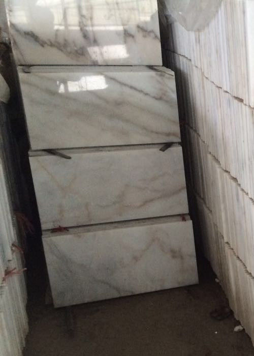 Guangxi White marble polished 240x140cm tile slab gloss floor tiles window sill