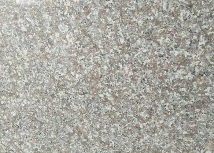 Red Stone Polished Granite Slabs Tiles Flamed Bush Hammered Color Uniformity
